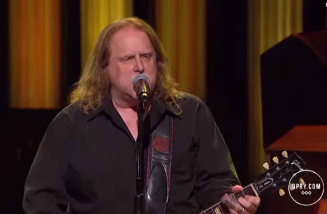 LIVE AT THE OPRY: Warren Haynes featuring Railroad Earth, 'Company Man'