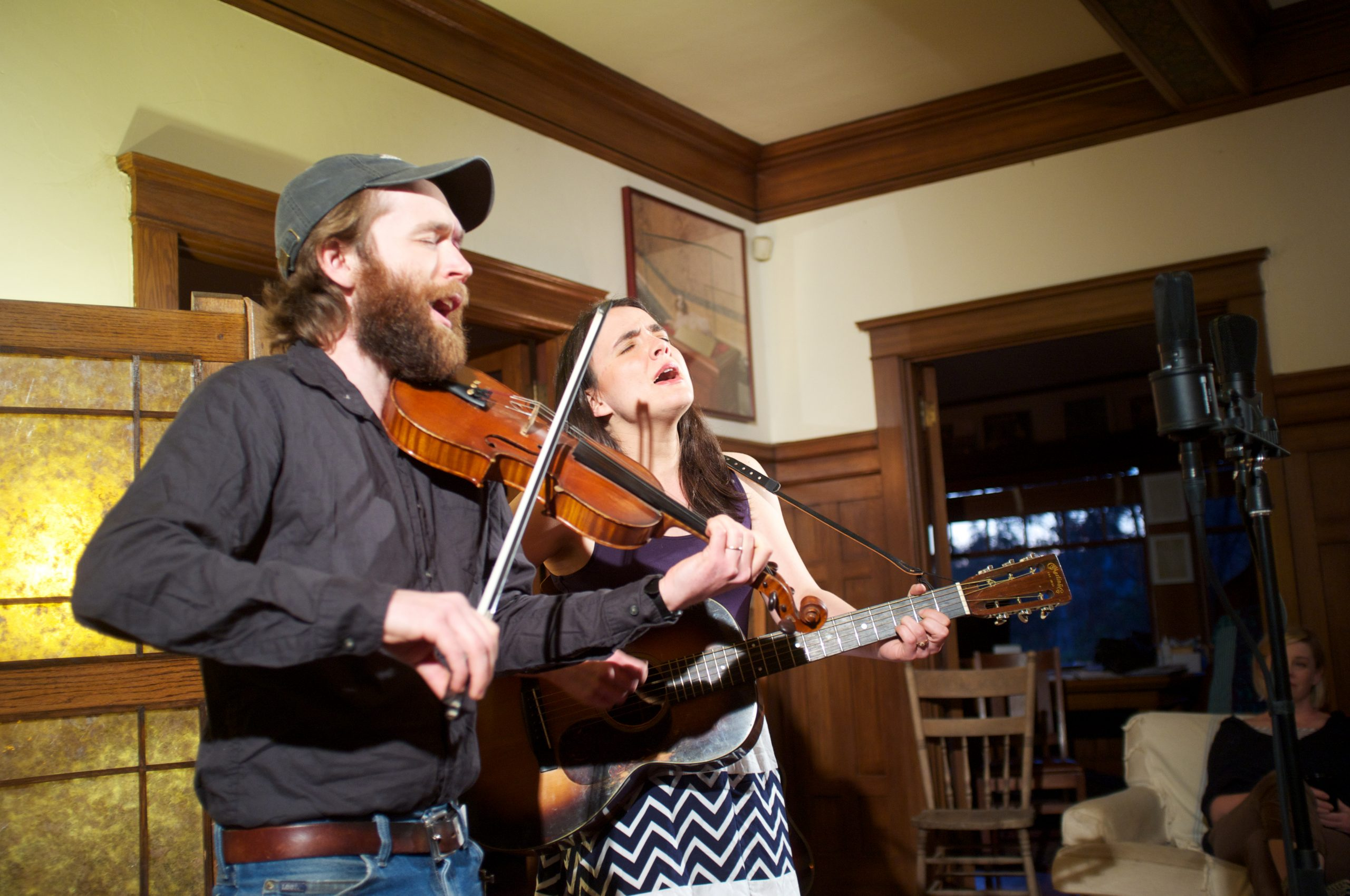 LISTEN: Jesse Milnes and Emily Miller, 'Fun's All Over'