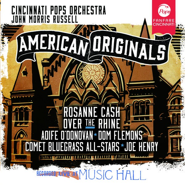 LISTEN: Rosanne Cash and others with the Cincinnati Pops Orchestra, 'Camptown Races'