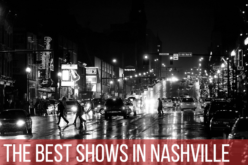 Hey Nashville, Get Off Your Ass and Go See Some Live Music in September