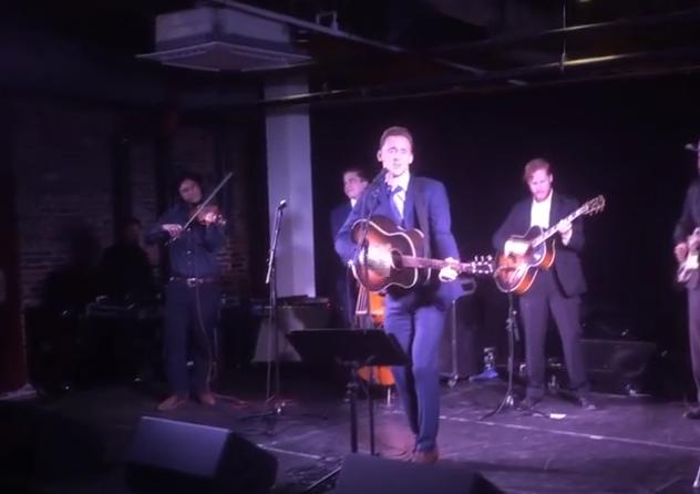 Watch Tom Hiddleston Perform as Hank Williams