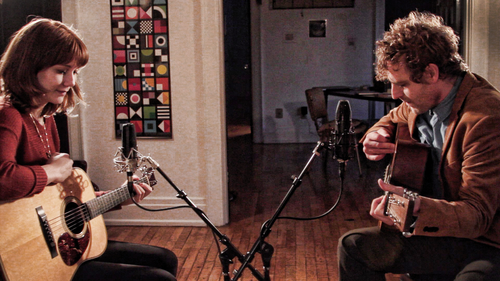 WATCH: Korby Lenker with Molly Tuttle, 'Friend and a Friend'