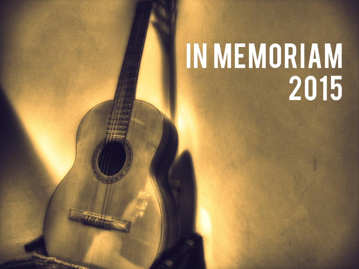 In Memoriam: 2015