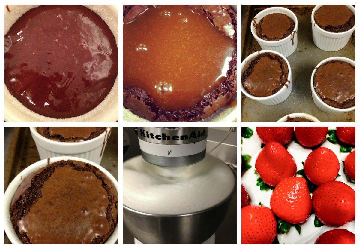 Chocolate Pudding Cake with Caramel Sauce