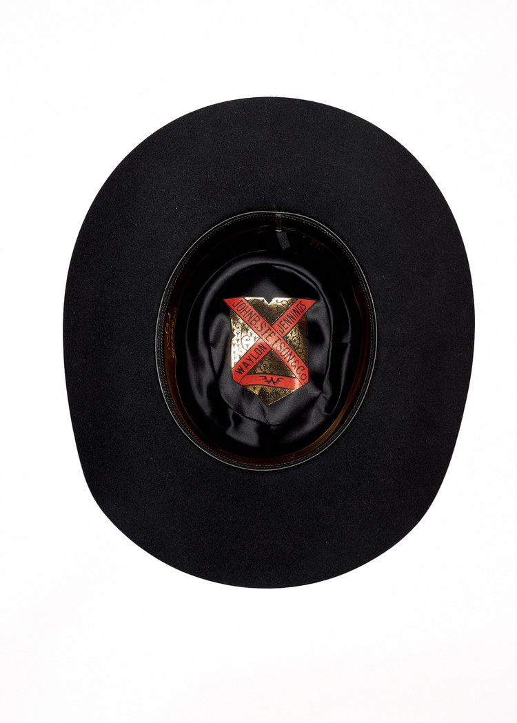 Stetson and Mitra Khayyam Create Custom Waylon Jennings Hat  1242e305557