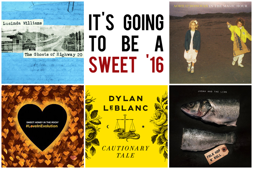 The BGS Sweet 16: Albums We're Excited About in 2016