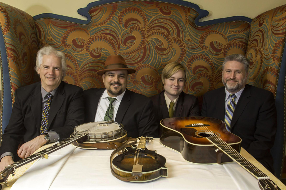 LISTEN: Frank Solivan and Dirty Kitchen with Del McCoury, 'Pretty Woman'