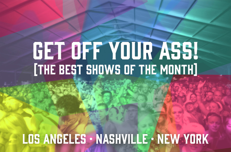 Get Off Your Ass: March