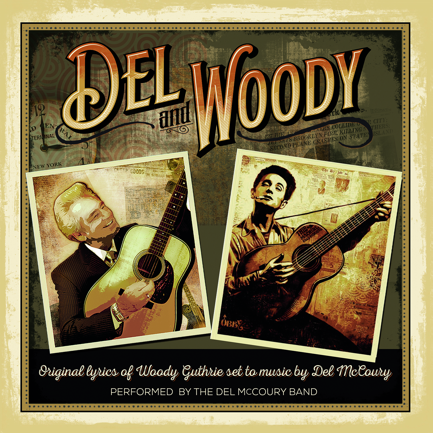 STREAM: Del McCoury Band, 'Del and Woody'