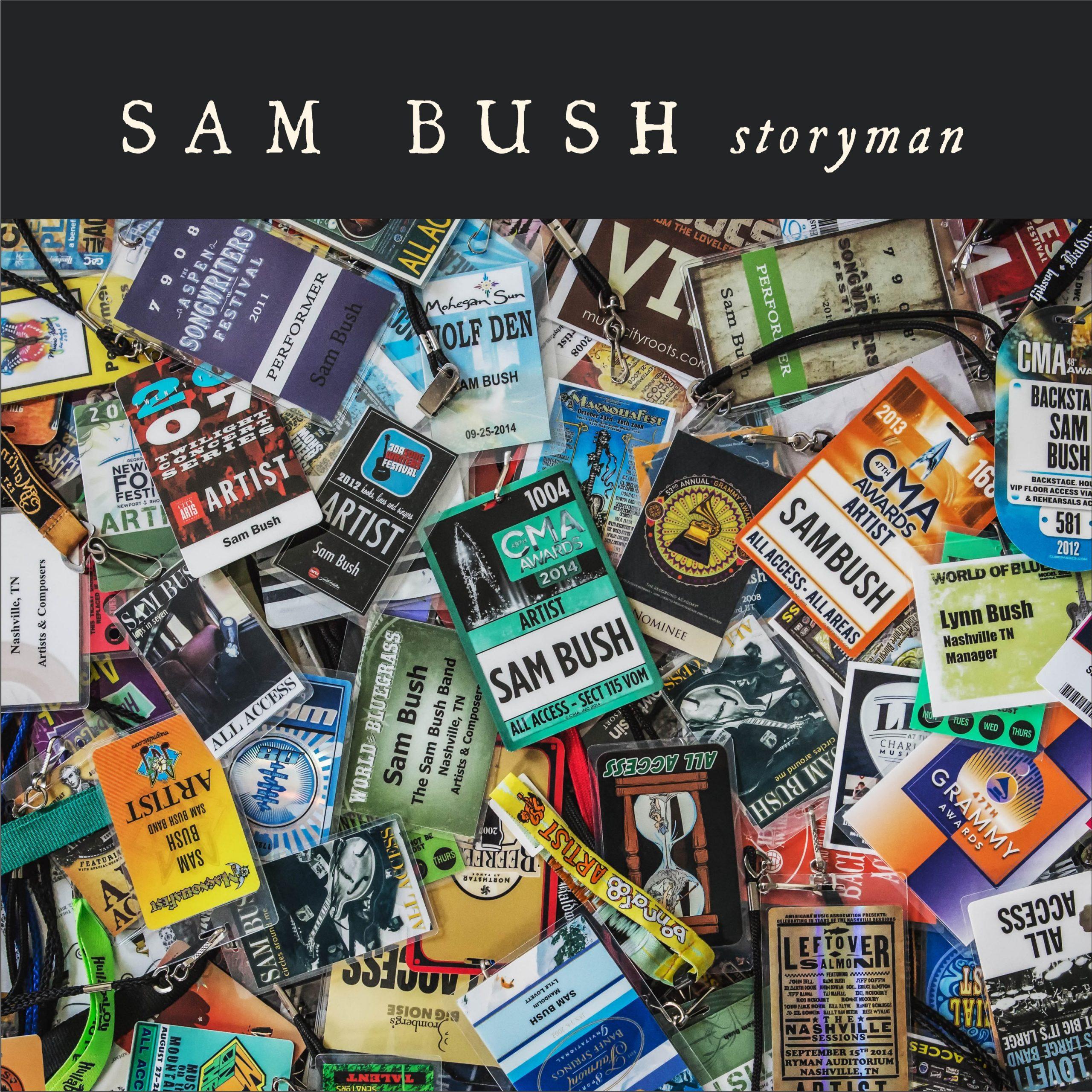 STREAM: Sam Bush, 'Storyman'