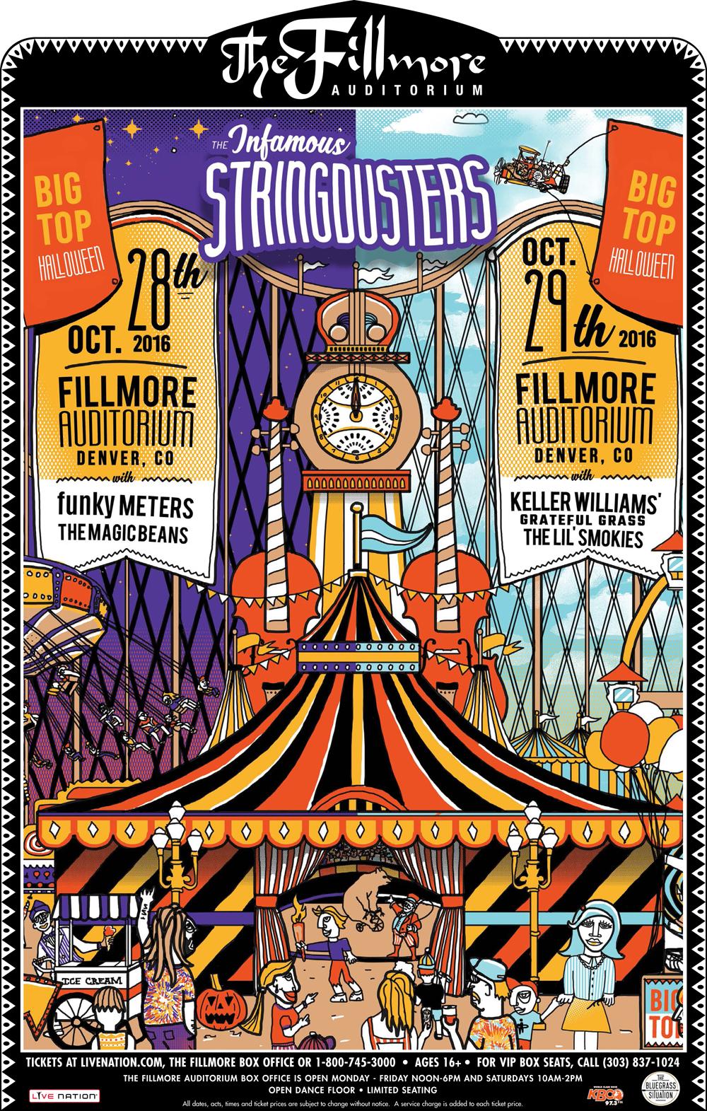 BGS Presents the Infamous Stringdusters' Big Top Halloween (BONUS: Video Premiere)
