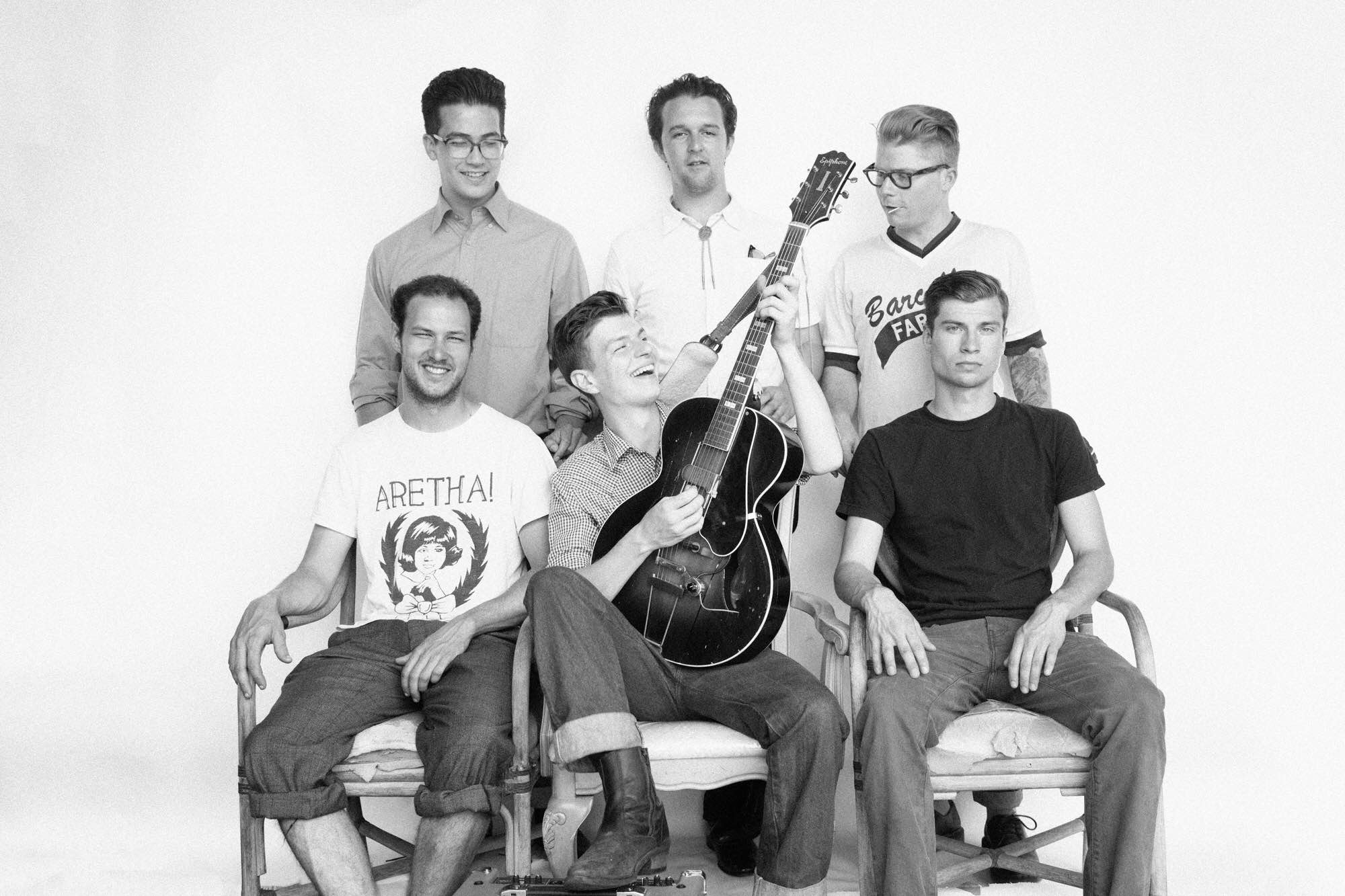 WATCH: Jacob Miller and the Bridge City Crooners, 'This Little Girl of Mine'