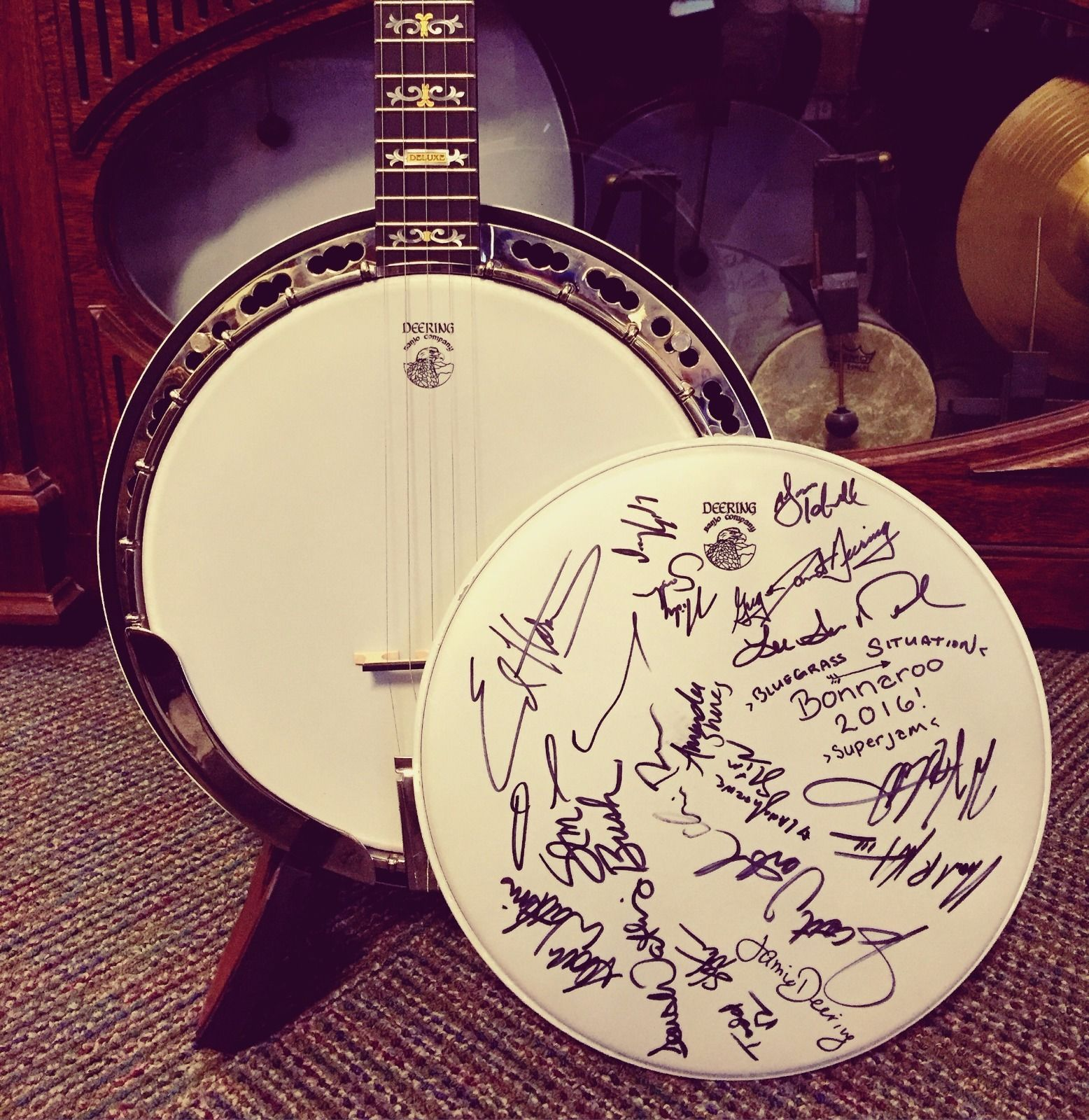 Bid on a Banjo to Help Pharis and Jason Romero