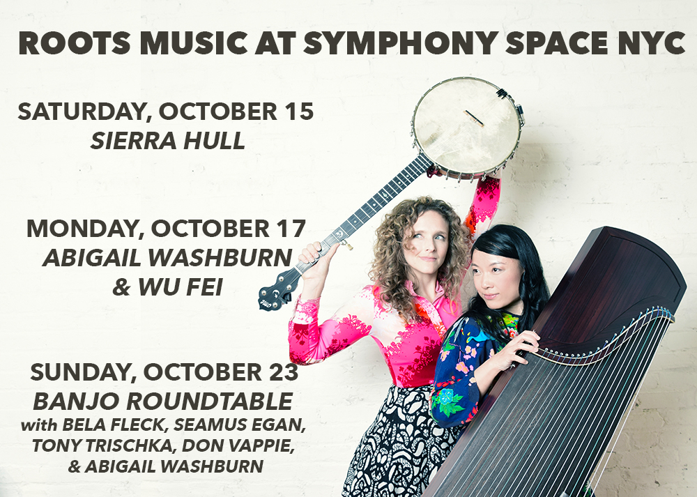 Don't Miss PROJECT AMERICANA at Symphony Space in October!