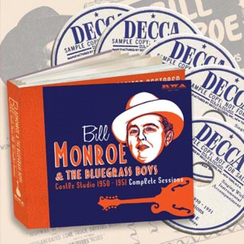 New Box Set Dives Deep into Bill Monroe's Archives