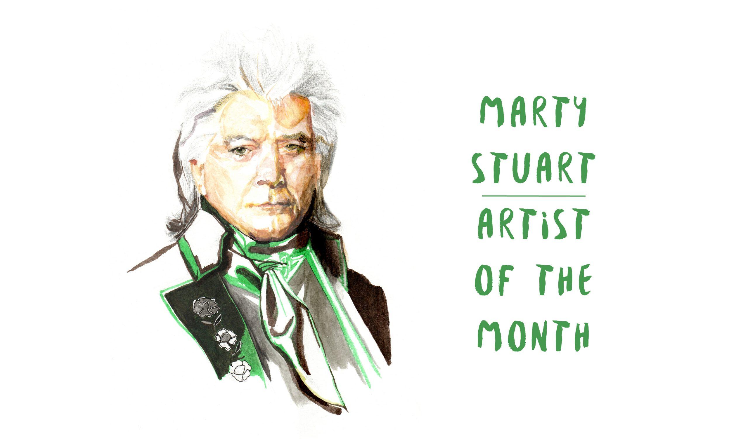 Marty Stuart: Surfing the Desert Waves
