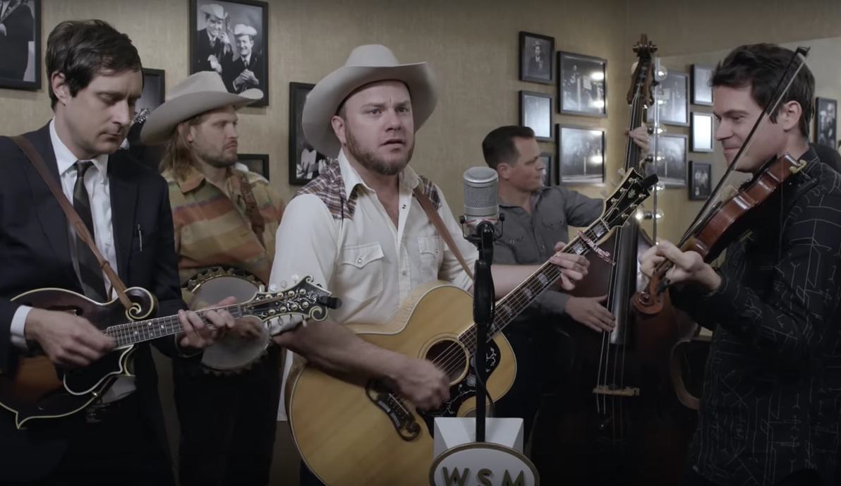 WATCH: Old Crow Medicine Show, 'Black Haired Quebecoise'