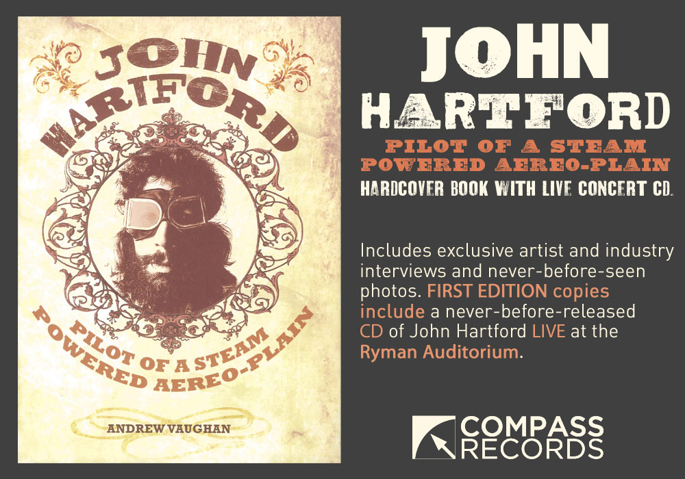 'JOHN HARTFORD: Pilot of a Steam Powered Aereo-Plain'