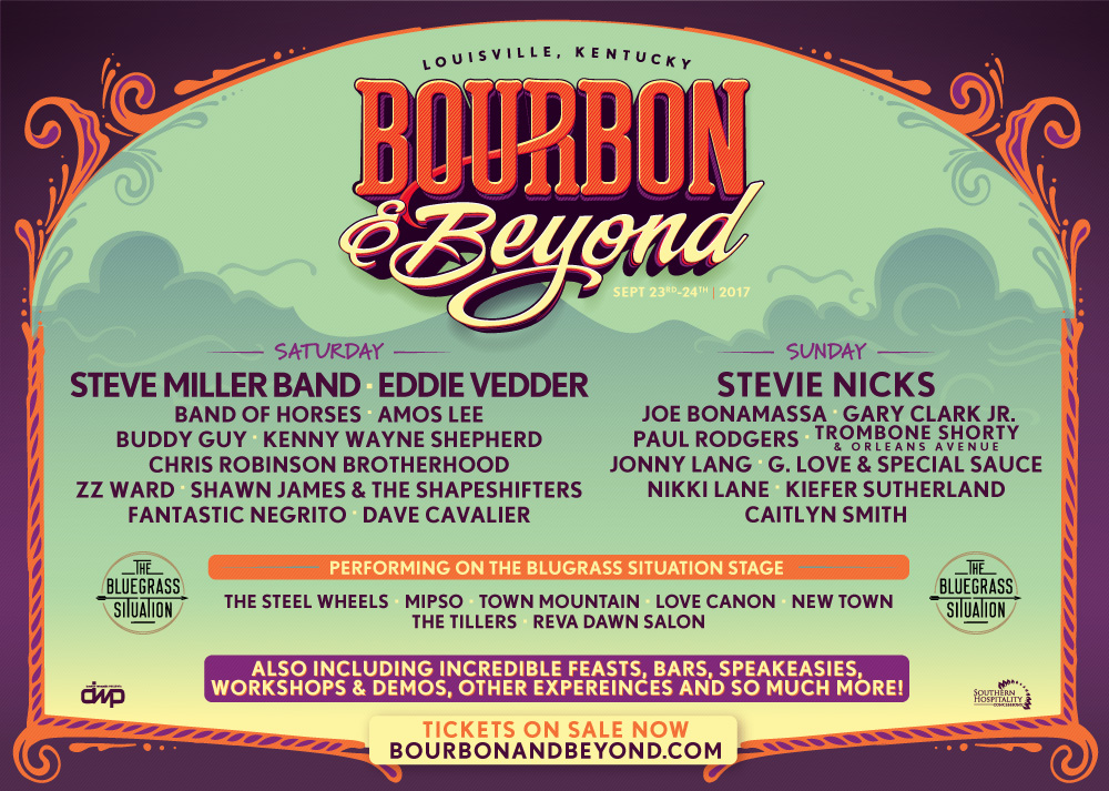 Don't Miss the BGS Stage at Bourbon & Beyond September 23-24!