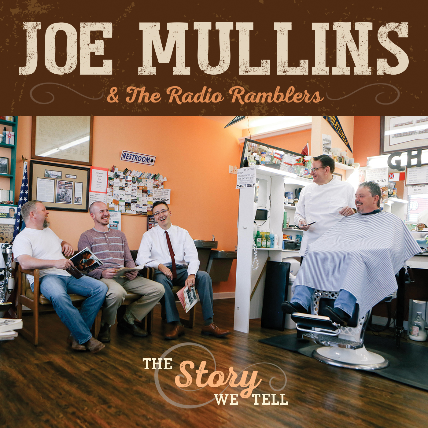 STREAM: Joe Mullins & the Radio Ramblers, 'The Story We Tell'