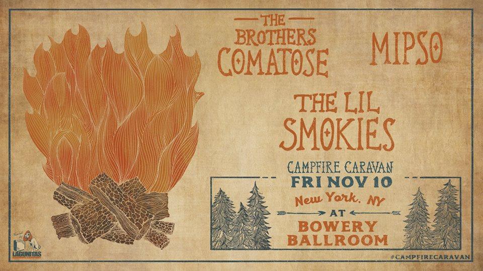 Campfire Caravan at Bowery Ballroom, NYC
