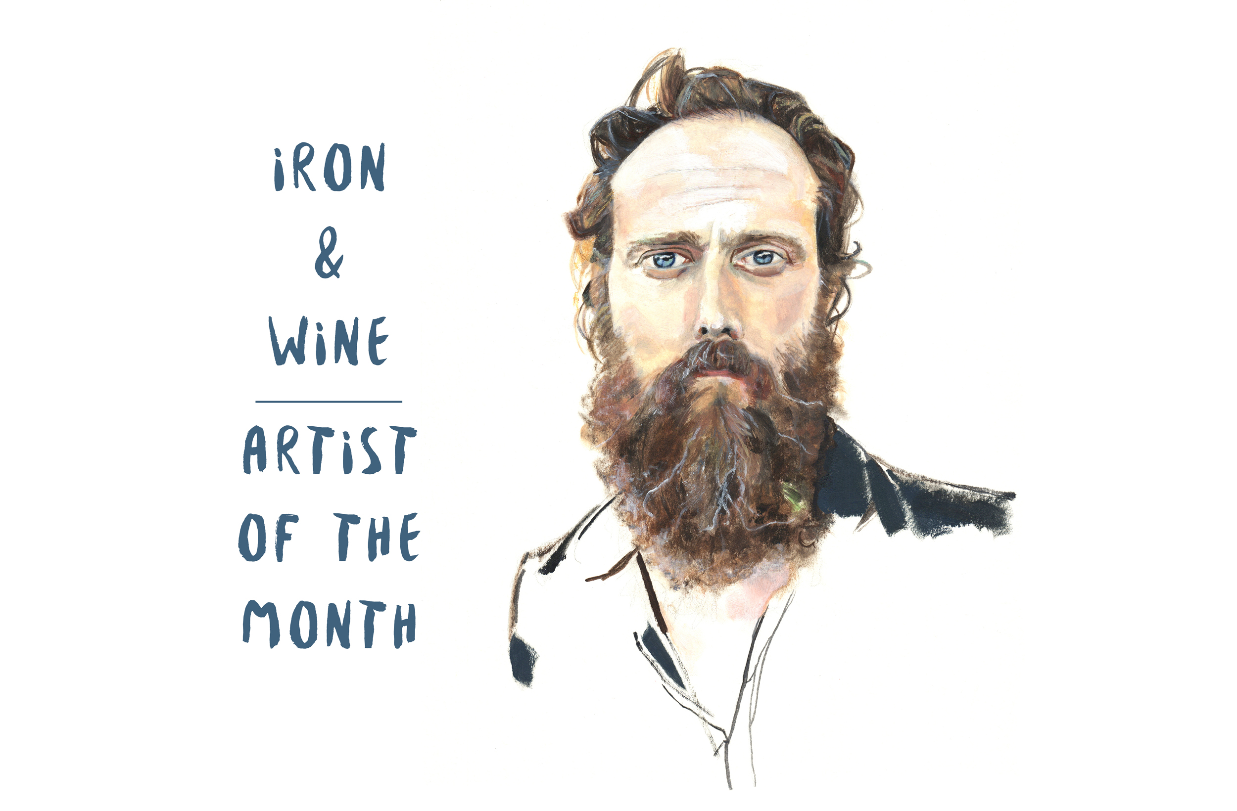 Iron & Wine: Let Go the Reins