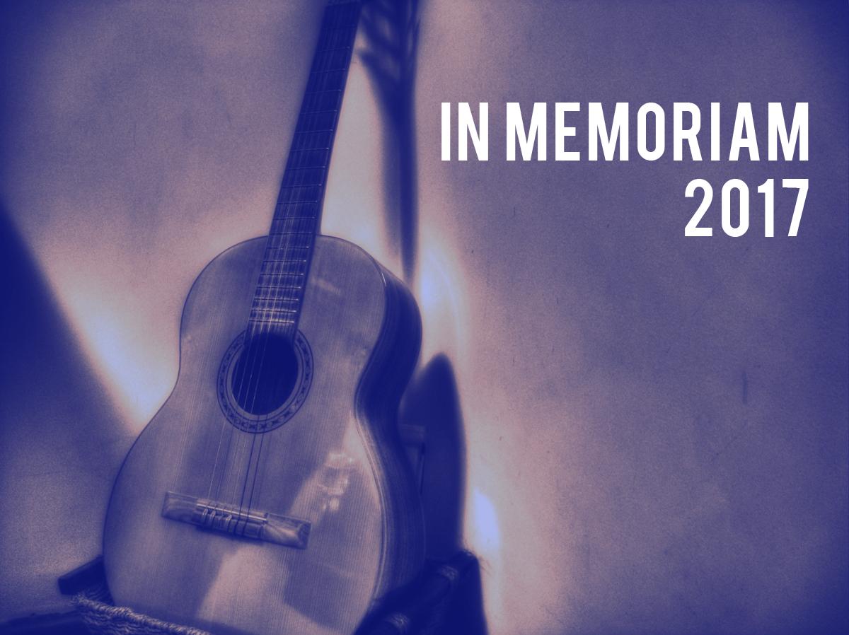 In Memoriam: 2017