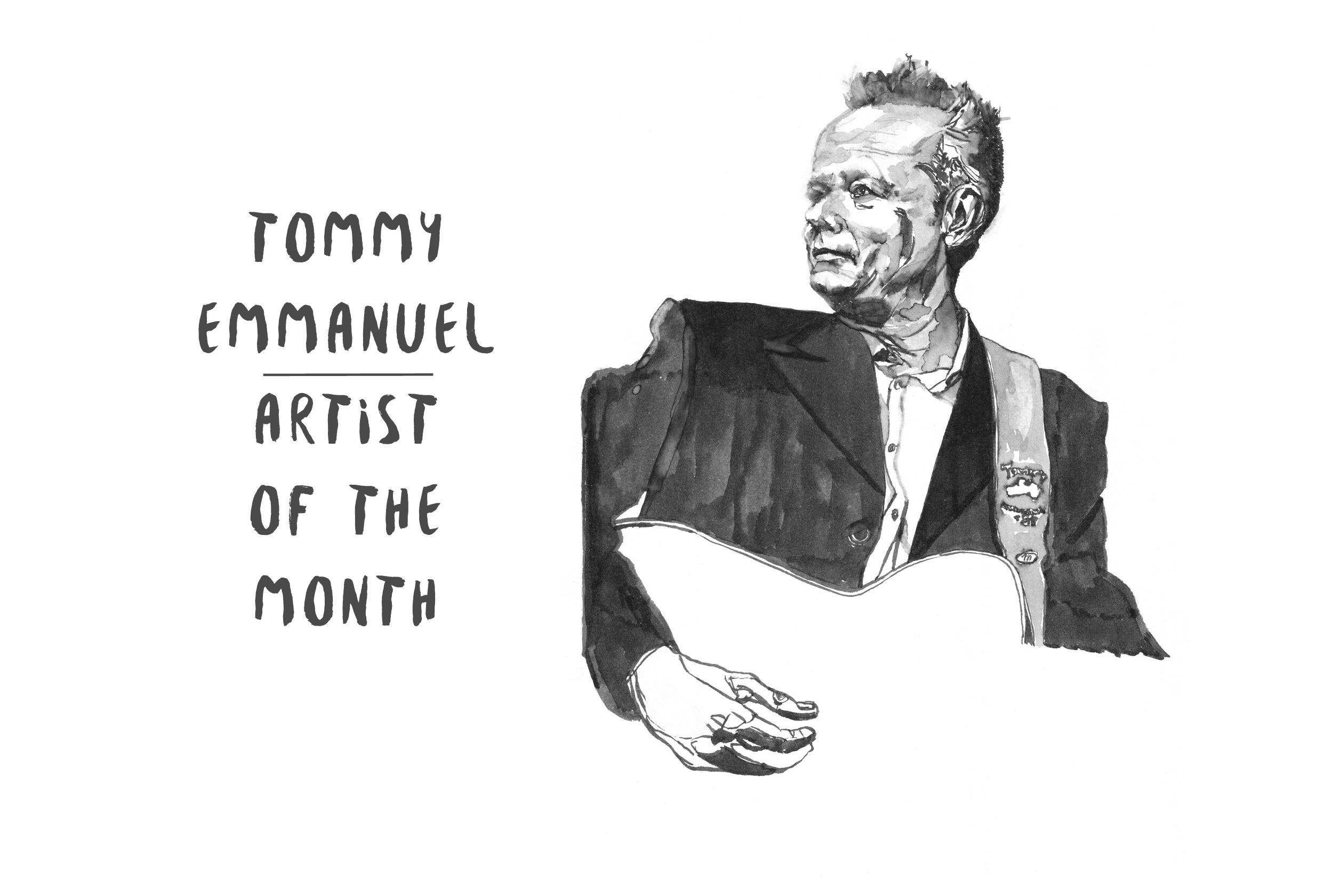 Tommy Emmanuel: Swinging for the Fences