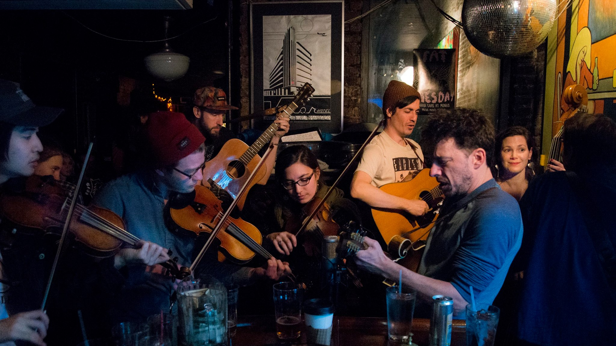 MIXTAPE: Mona's Monday Night Bluegrass Session
