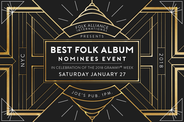 Folk Alliance International Celebrates Grammy Nominees in NYC
