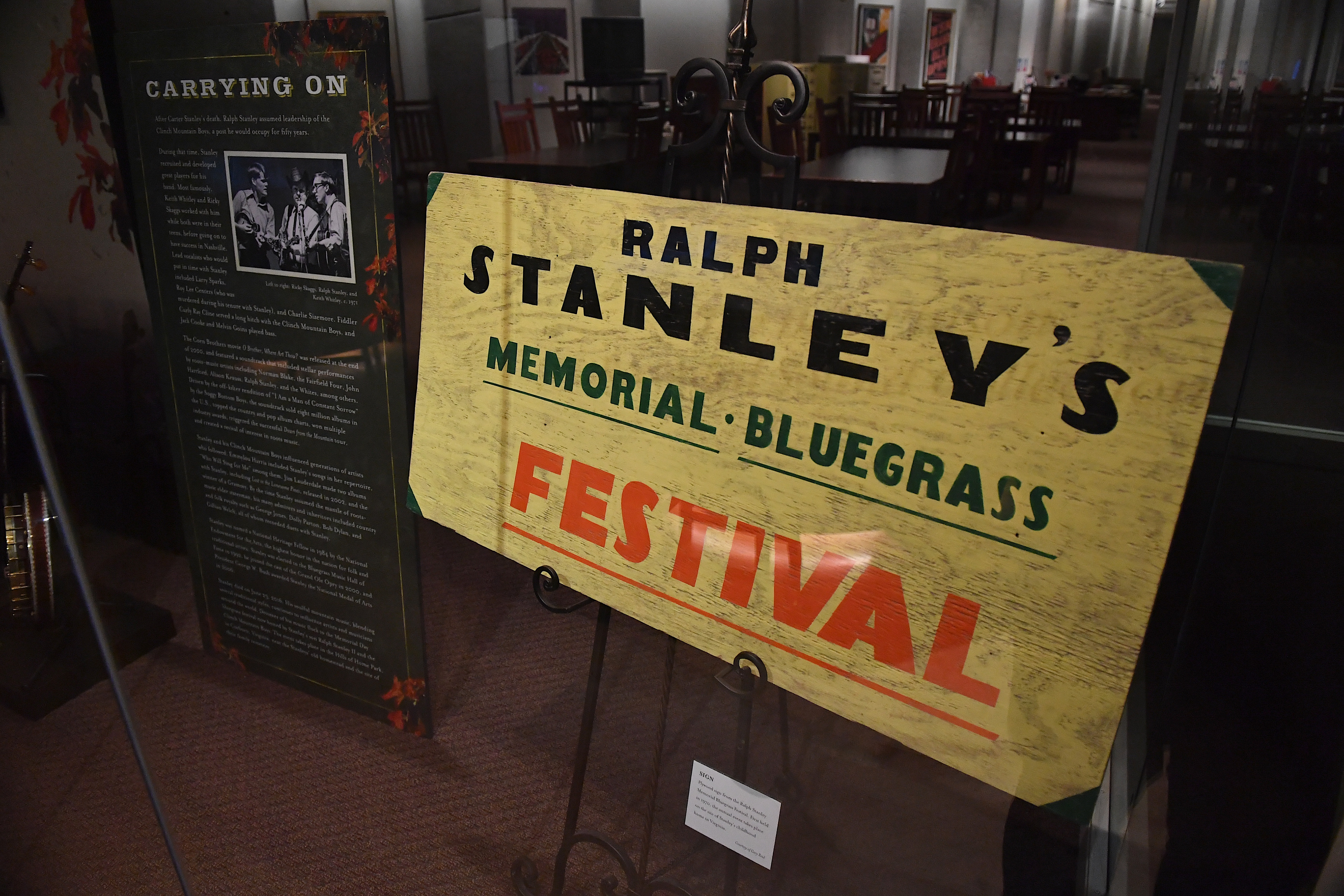 Ralph Stanley Exhibit Opens at Country Music Hall of Fame