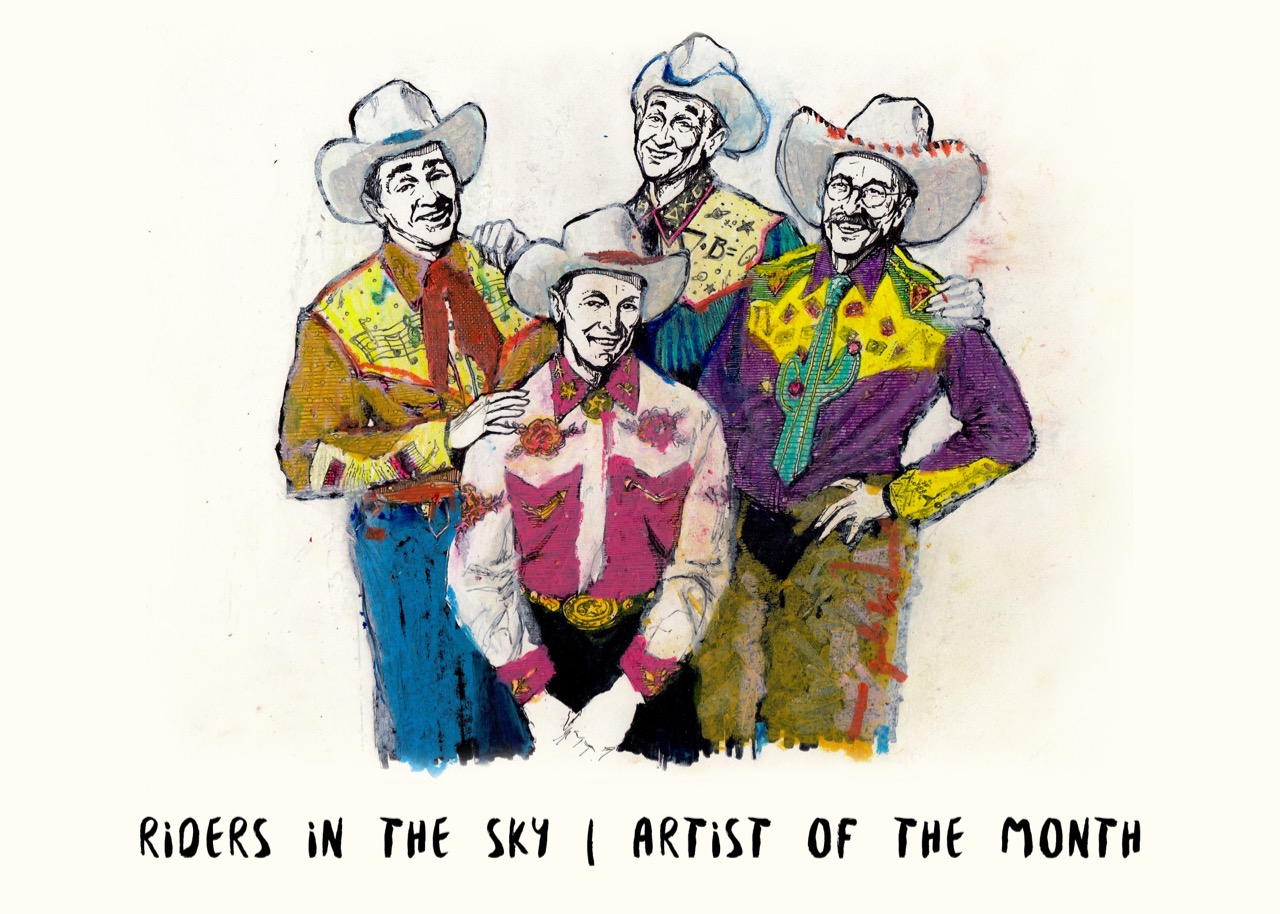 Riders in the Sky: Genuine Songs, the Cowboy Way | The Bluegrass