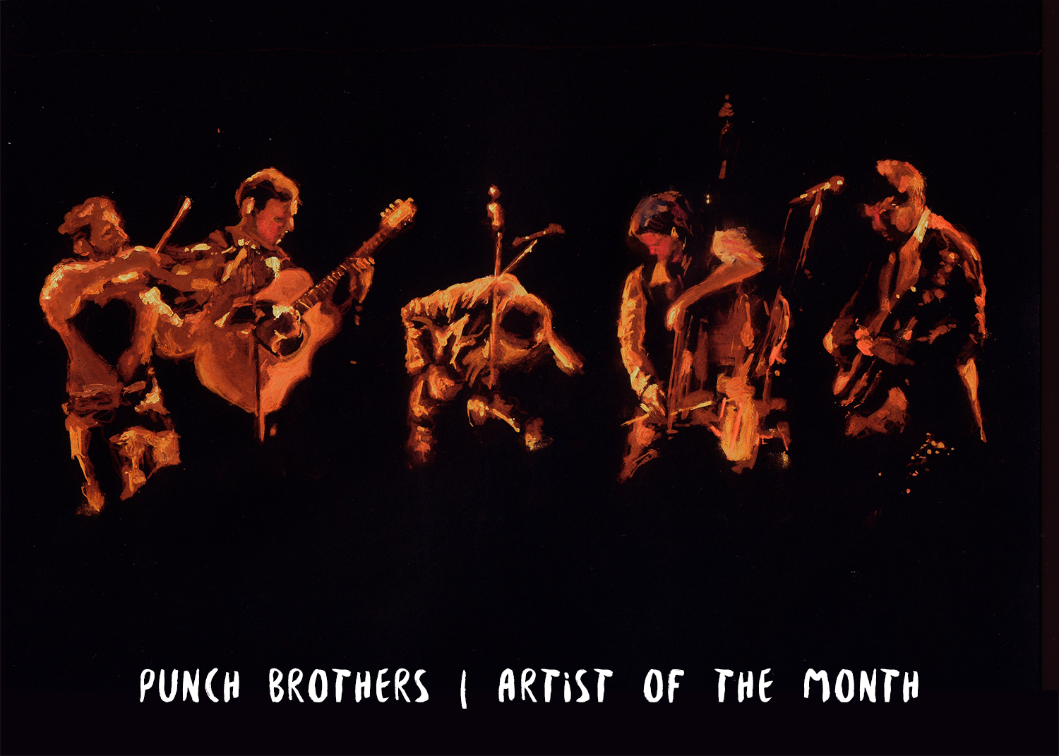 Artist of the Month: Punch Brothers