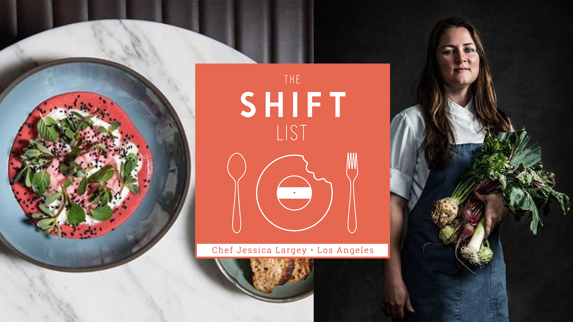 The Shift List - Jessica Largey - Los Angeles (Simone, Manresa, Providence)