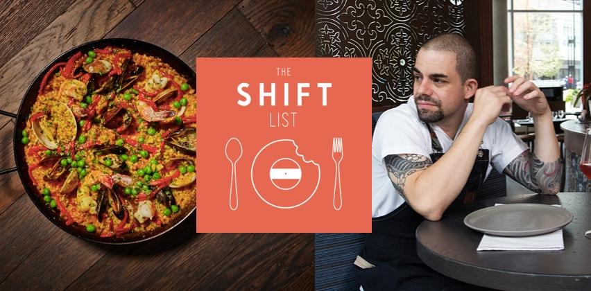 The Shift List - Jose Salazar - Cincinnati (Salazar, Mitas)
