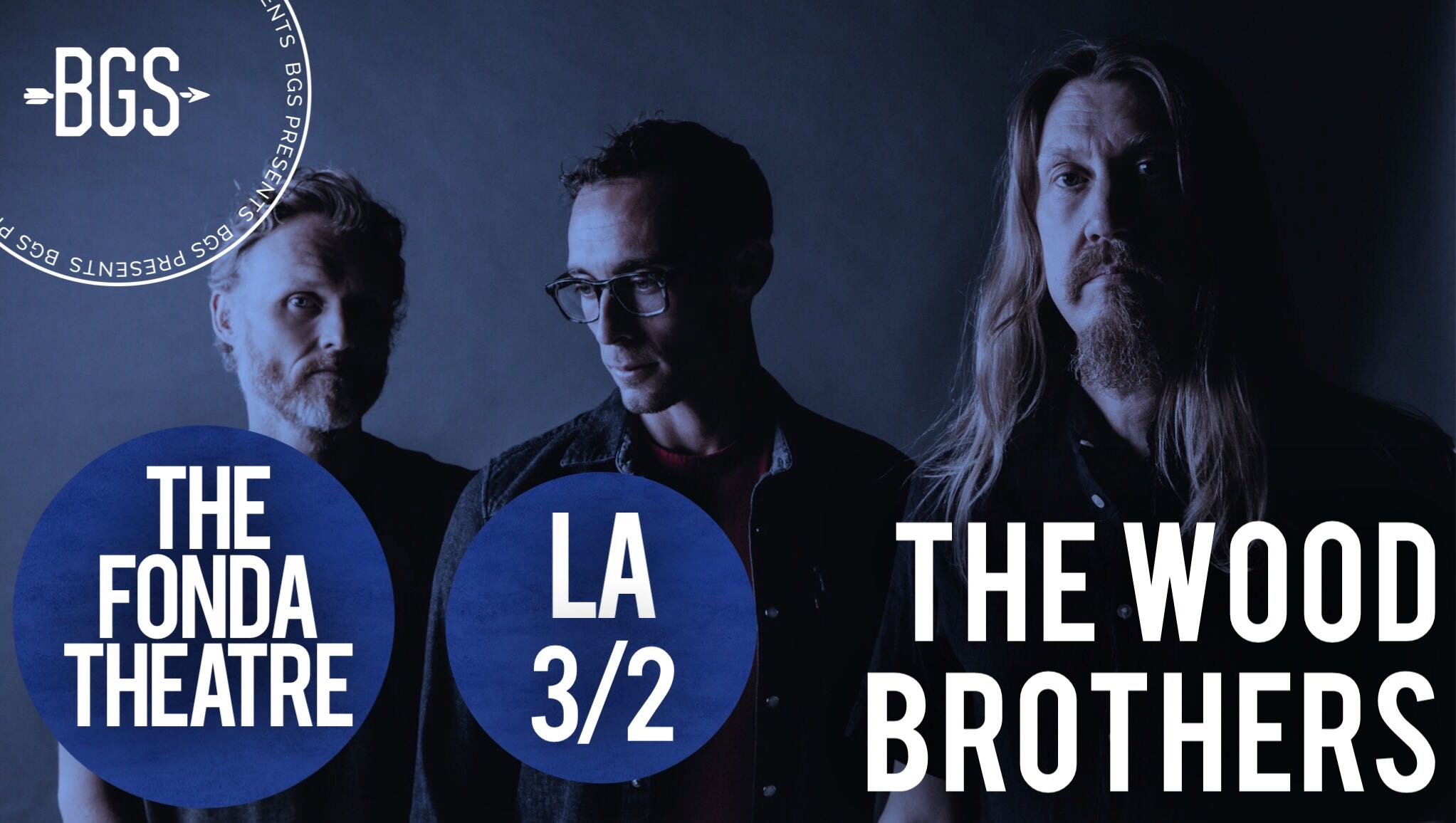 GIVEAWAY: Win tickets to see the Wood Brothers @ the Fonda Theatre (LA) 3/2