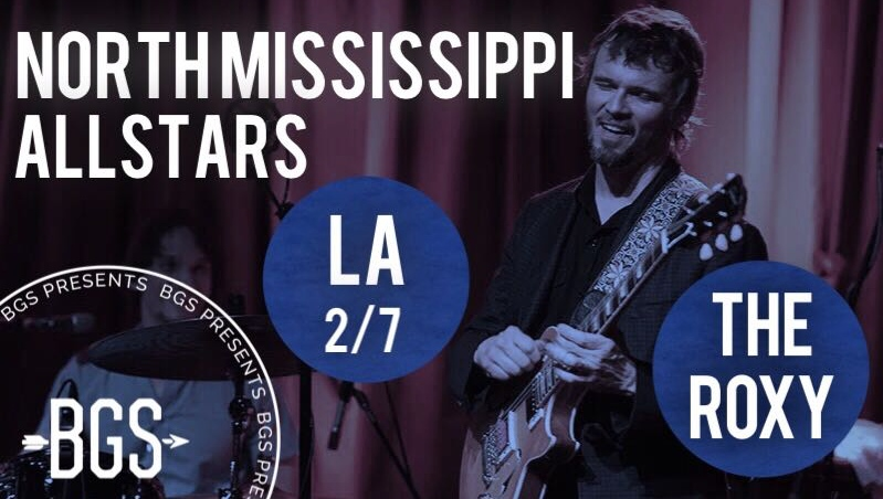 GIVEAWAY: Win tickets to North Mississippi Allstars @ The Roxy (LA) 2/7