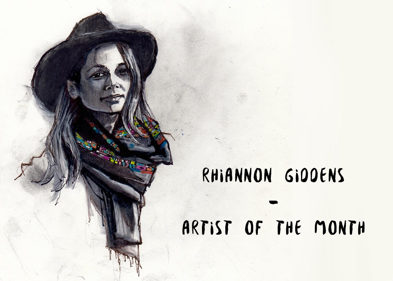 ARTIST OF THE MONTH: Rhiannon Giddens