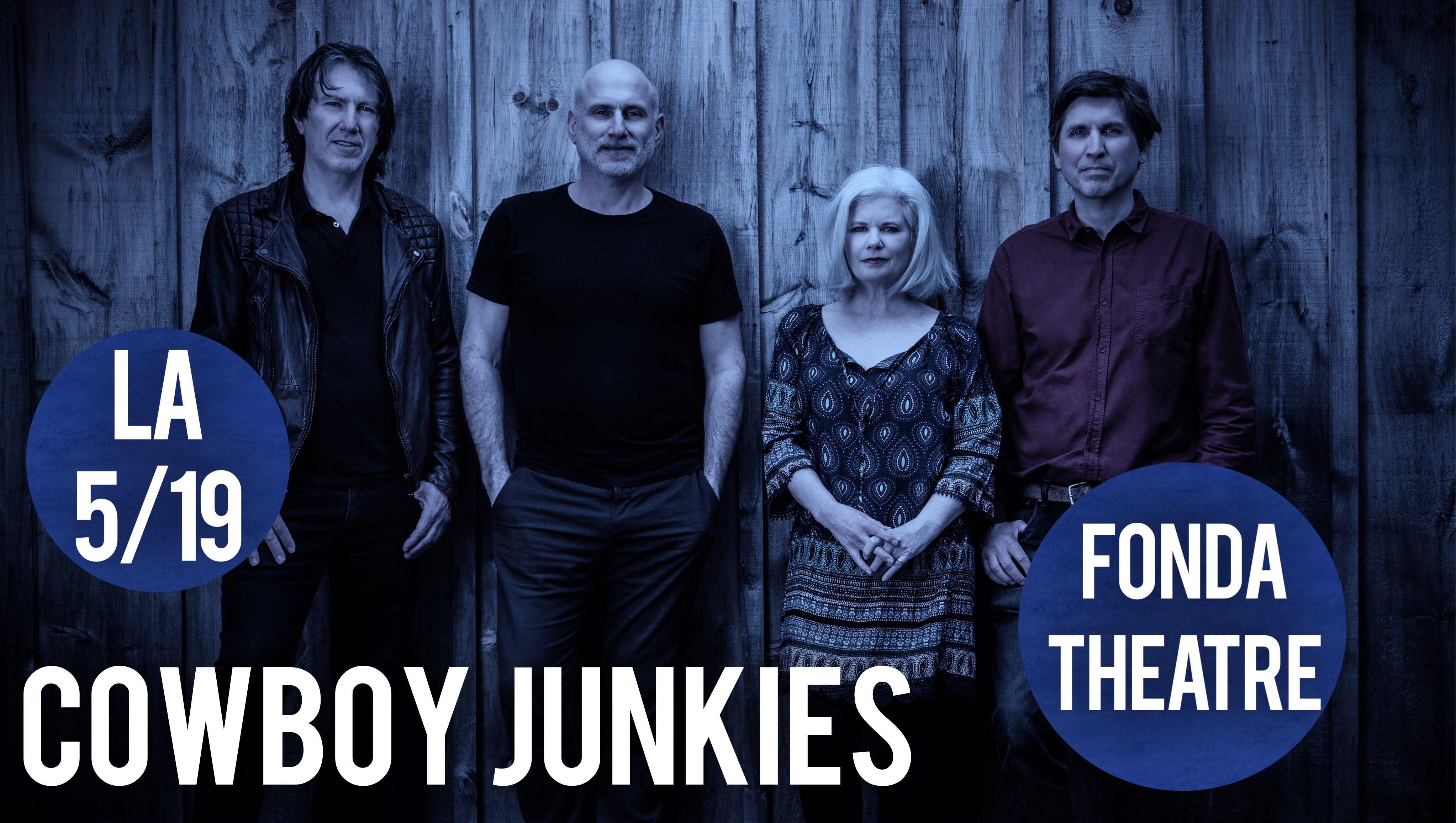 GIVEAWAY: Win tickets to Cowboy Junkies at Fonda Theatre (LA) 5/19
