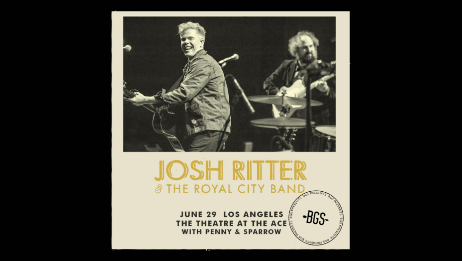 GIVEAWAY: Win tickets to Josh Ritter @ the Theatre at the Ace Hotel (LA) 6/29
