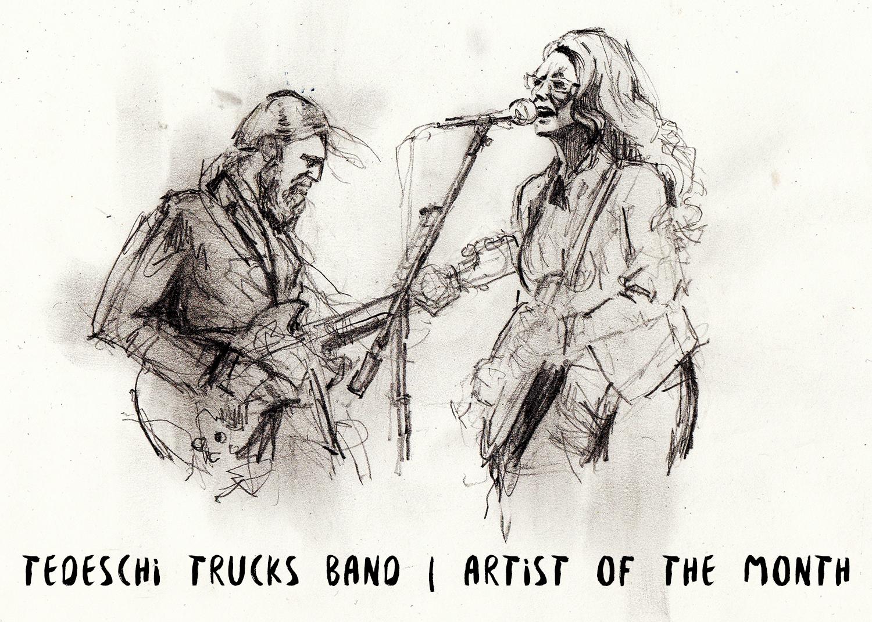 ARTIST OF THE MONTH: Tedeschi Trucks Band