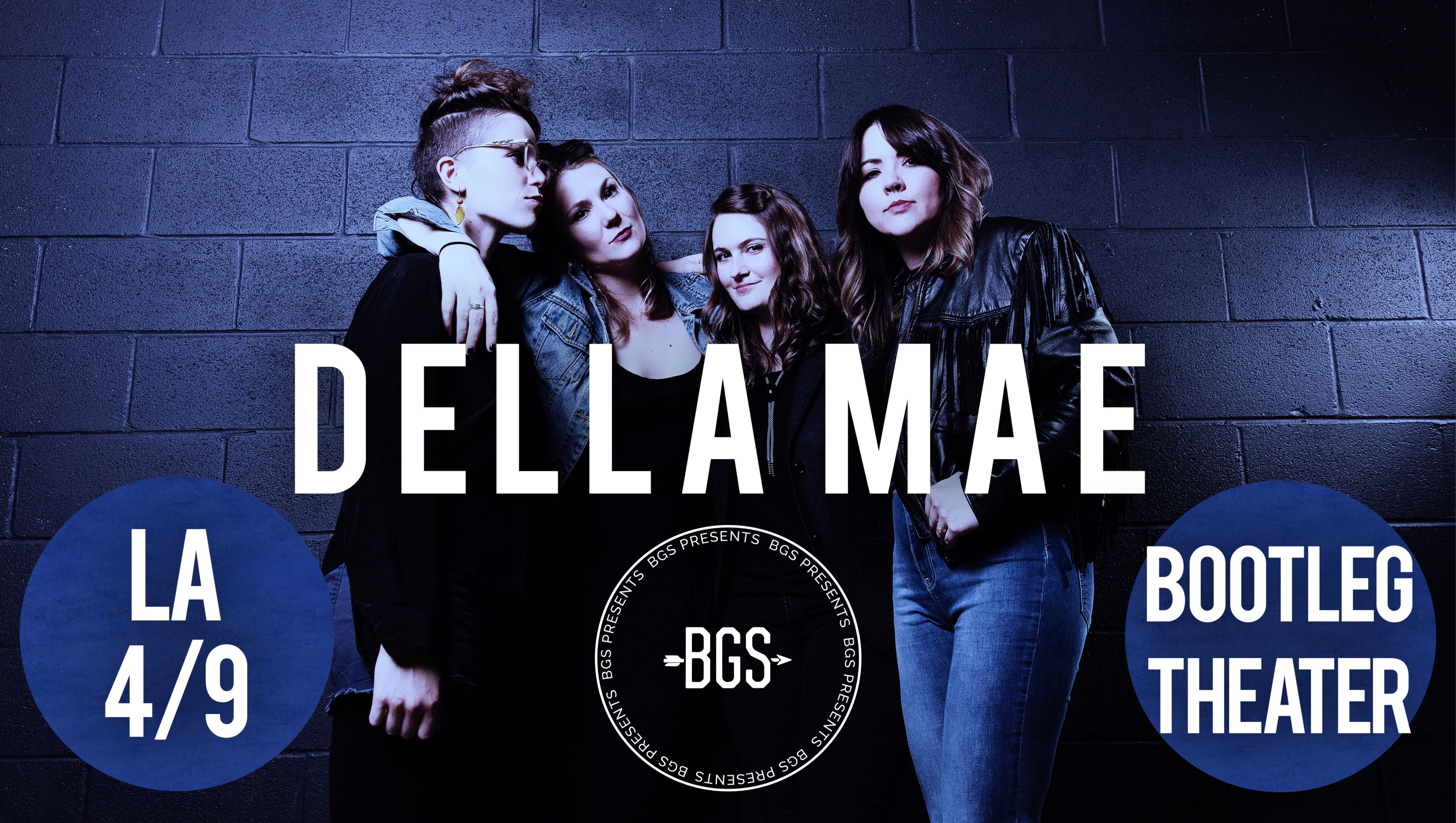 GIVEAWAY - Win tickets to Della Mae at Bootleg Theater (LA) 4/9