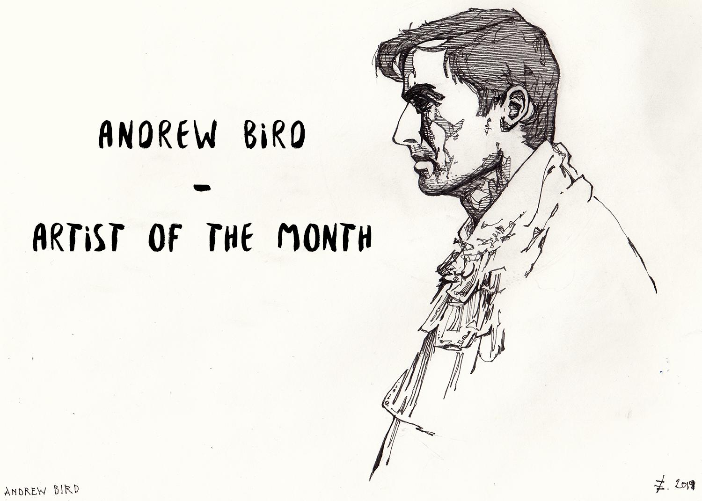 ARTIST OF THE MONTH: Andrew Bird