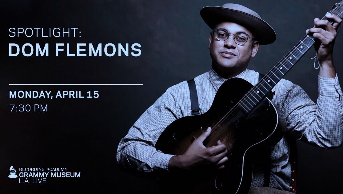 GIVEAWAY: Win tickets to Dom Flemons at the GRAMMY Museum (LA) 4/15