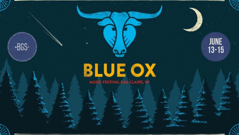 GIVEAWAY: Win Tickets + Camping Package for Blue Ox Music Festival (Eau Claire, WI) 6/13 - 6/15
