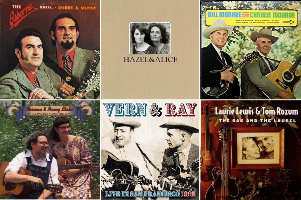 22 Top Bluegrass Duos