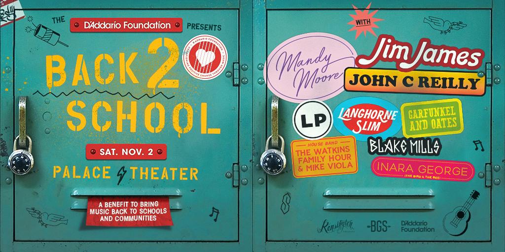ANNOUNCING: BGS, D'Addario Foundation Plan L.A. Concert for School Music Programs