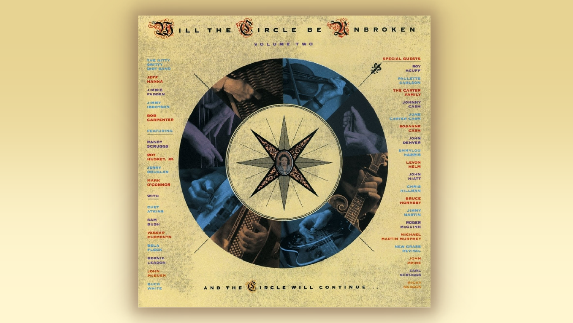 BGS Presents 30 Years of 'Will the Circle Be Unbroken, Volume Two' at Americanafest