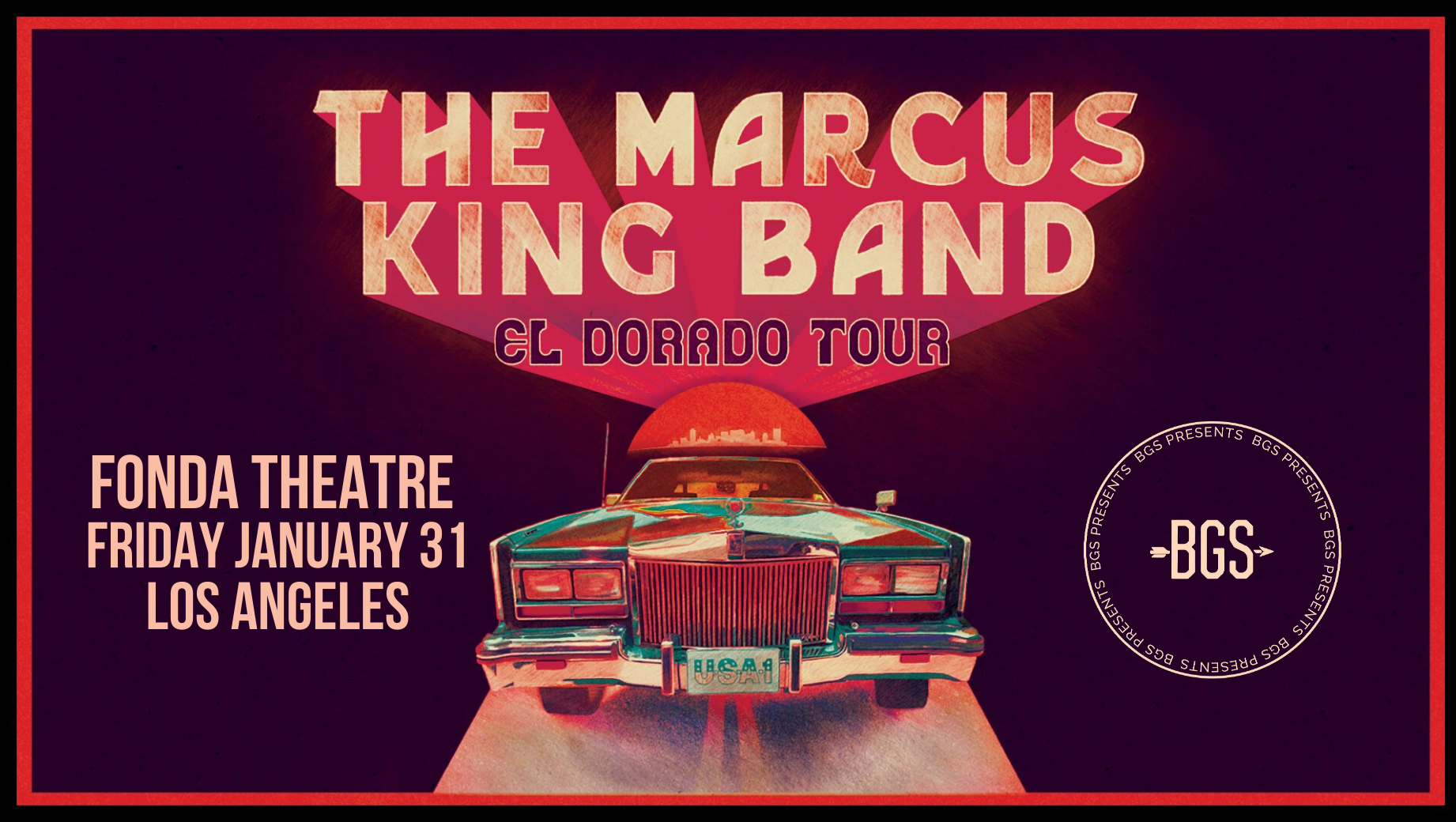 GIVEAWAY: Win tickets to the Marcus King Band @ Fonda Theatre (LA) 1/31