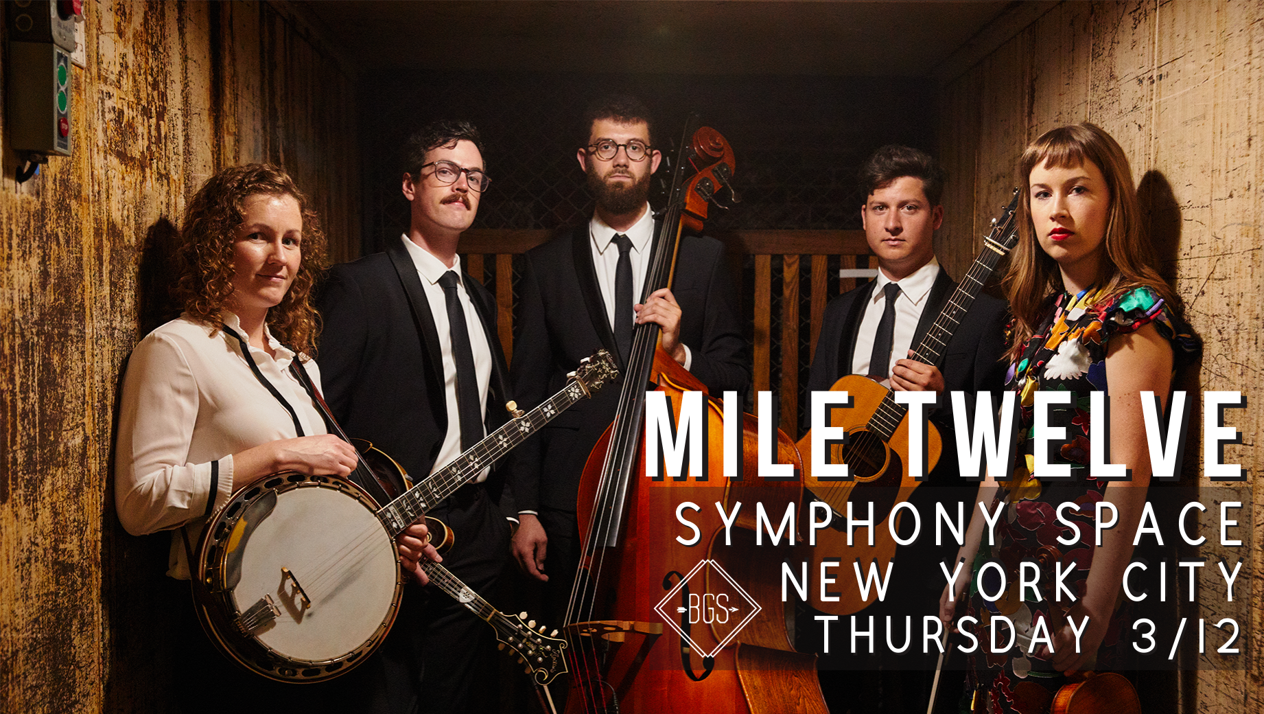 GIVEAWAY - Win Tickets to Mile Twelve @ Symphony Space (NYC) 3/12